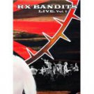 rx bandits live vol. 1 DVD 2004 mashdown babylon used mint