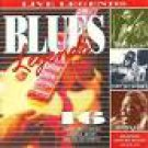 blues legends - live legends - various artists CD 1993 castle 16 tracks used mint