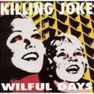 killing joke - wilful days CD 1995 virgin caroline 13 tracks used mint