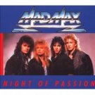 mad max - night of passion CD 1987 point music 12 tracks used mint