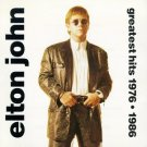 elton john - greatest hits 1976 - 1986 CD 1992 columbia MCA 13 tracks used mint