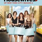 real housewives of new york city season 2 DVD 4-discs 2009 bravo used mint