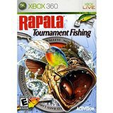 xbox 360 live - rapala tournament fishing 2006 activision used mint