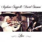 stephane grappelli / david grisman - live CD 1981 warner archives 8 tracks used mint