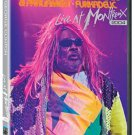 george clinton & parliament / funkadelic - live at montreux DVD 2005 eagle rock used mint