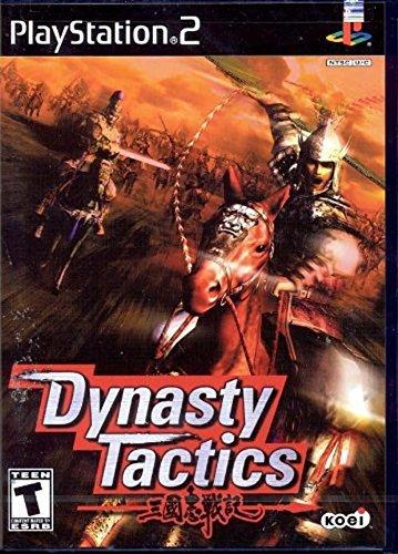 dynasty tactics - playstation 2 2002 Koei Teen used mint