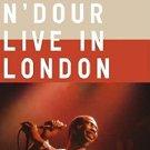youssou n'dour - live in london DVD 2003 warner 21 tracks used mint