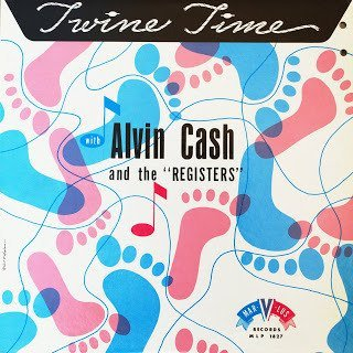 alvin cash and the crawlers - twine time CD marvlus 25 tracks used mint