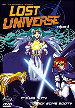 lost universe volume 6 - it's his duty to kick some booty DVD 2000 ADV used mint
