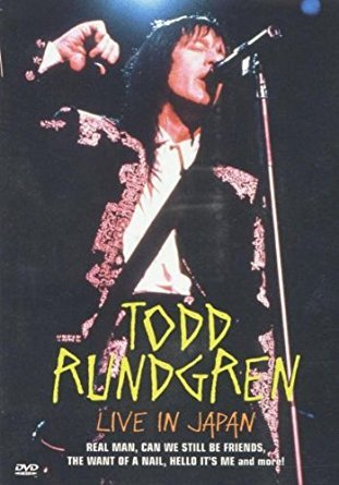 todd rundgren - live in japan DVD 1990 image alchemedia productions NTSC 94 minutes used mint