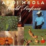 al di meola - world sinfonia CD 1991 tomato 10 tracks used mint
