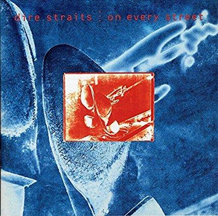 dire straits - on every street CD 1991 warner phonogram used mint