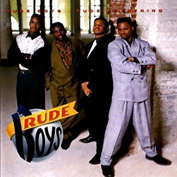 rude boys - rude awakening CD 1990 atlantic 10 tracks used