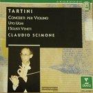 tartini - concerti per violino - claudio scimone CD 1985 erato used mint