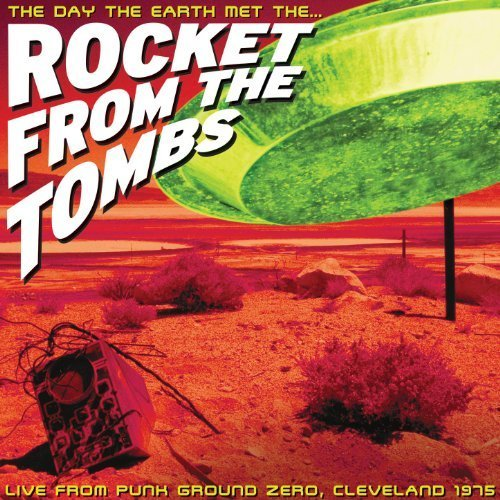 day the earth met the rocket from the tombs CD 2002 smog veil 19 tracks used mint