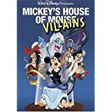 mickey's house of mouse villains DVD disney 2002 70 minutes used mint