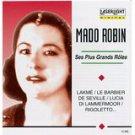 mado robin - ses plus grands roles CD 1995 delta laserlight classics 10 tracks used mint