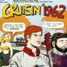 "cruisin' 1962 with russ ""weird beard"" knight CD mono 1987 design records 30 tracks used mint"