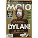 mojo #60 - november 1998  with bob dylan cover used