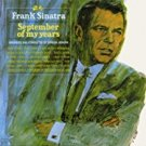 frank sinatra - september of my years CD 1998 reprise 13 tracks used mint