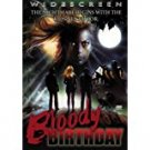 bloody birthday by lori lethin DVD widescreen 2002 VCI 85 mins used mint