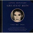 linda ronstadt - greatest hits II CD 1980 electra / asylum 11 tracks used mint