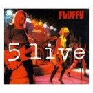 fluffy - 5 live CD single 1996 enclave 5 tracks used mint