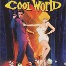 cool world - kim basinger + gabriel byrne + brad pitt DVD 2003 paramount 101 mins used mint
