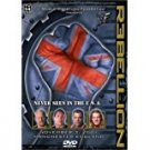 WW rebellion 2001 DVD 180 minutes used mint