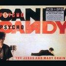 jesus and mary chain - psychocandy CD 2-CDs + DVD 2011 rhino edsel used mint