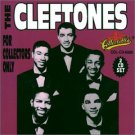 cleftones - for collectors only CD 2-discs 1992 rhino collectables 40 tracks used mint