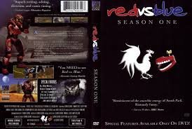 red vs blue season one DVD 2003 rooster teeth production NR used mint