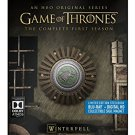 game of thrones - winterfell - season 1 bluray 5-discs steelbook used mint