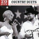 country duets - 20 hits - various artists CD 2007 kings road used mint
