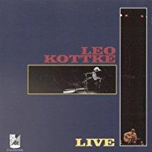 leo kottke - live CD 1995 private inc on the spot 15 tracks used mint