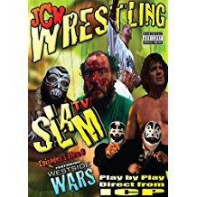 JCW wrestling - slam TV episodes 1 thru 9 DVD 4-discs 2007 psychopathic used mint