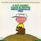 vince guaraldi trio - a boy named charlie brown - original sound track CD 1989 fantasy