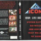 icon 20 - 1984 live bootleg DVD 2008 epicenter multimedia 16 tracks used mint