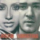 justin timberlake + christina argulera - justin & christina CD 2003 BMG RCA Jive 6 tracks new