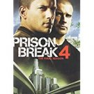 prison break 4 the final season DVD 6-discs 2009 20th century fox used mint