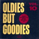oldies but goodies vol. 10 - various artists CD 1987 original sounds 17 tracks used mint