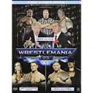 wrestlemania 23 - ultimate limited edition DVD 3-discs with 4 trade cards in metal case used