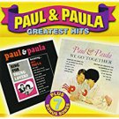 paul & paula - greatest hits CD 2000 stardust canada 31 tracks used mint