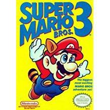 super mario bros 3 Nintendo NES 1990 used