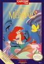 little mermaid - nintendo NES 1991 capcom used very good