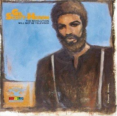 gil scott-heron - revolution will not be televised CD 1988 RCA bluebird 17 tracks used mint