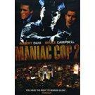 maniac cop 2 - robert davi + bruce campbell DVD 2007 first look 90 minutes new