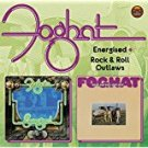 foghat - energized + rock and roll outlaws CD 2012 edsel demon 16 tracks used mint
