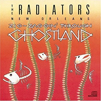 radiators - zigzaggin' through ghostland CD autographed 1989 CBS epic 13 tracks used mint