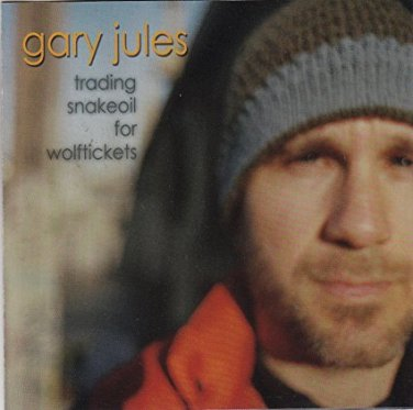 gary jules - trading snakeoil for wolftickets CD autographed 2001 down up down 11 tracks used mint